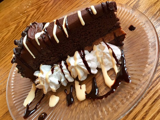 Chocolate cake from Twisted in Sheboygan Falls