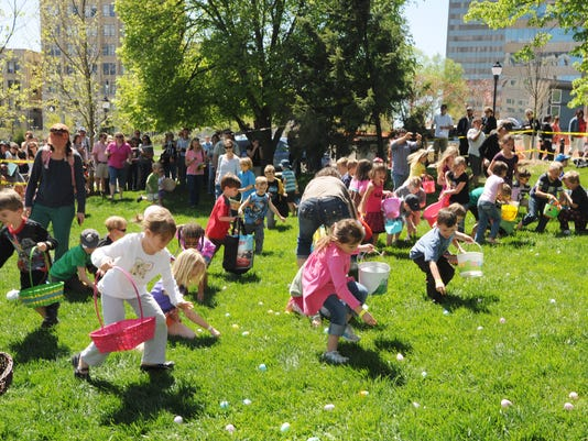 easter on the green