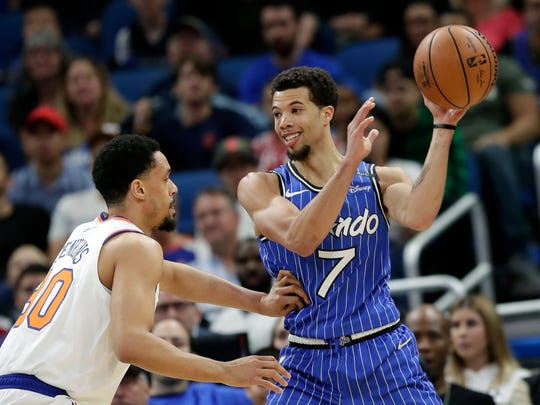 Orlando Magic guard Michael Carter-Williams never quite caught on during his time in Milwaukee.