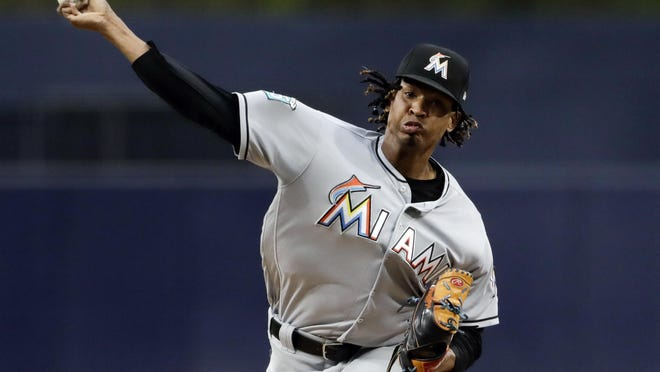Miami Marlins starting pitcher Jose Urena reportedly tested positive for coronavirus.