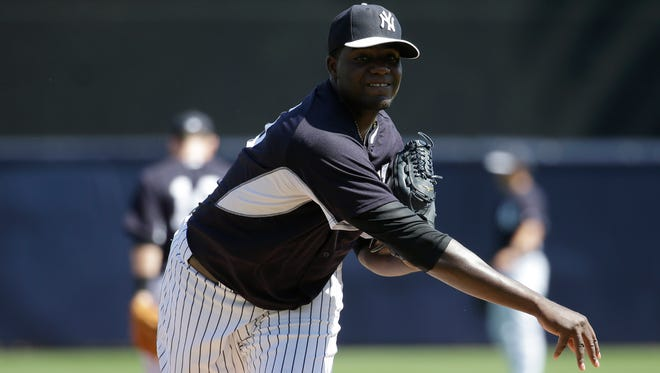 Yankees starter Michael Pineda allowed one hit in two scoreless innings Monday.