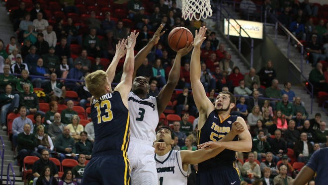 Khalil Small (3) has been a bright spot for UWGB.