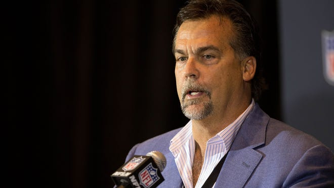 Jeff Fisher talks about rule changes and sportsmanship at the league meetings.