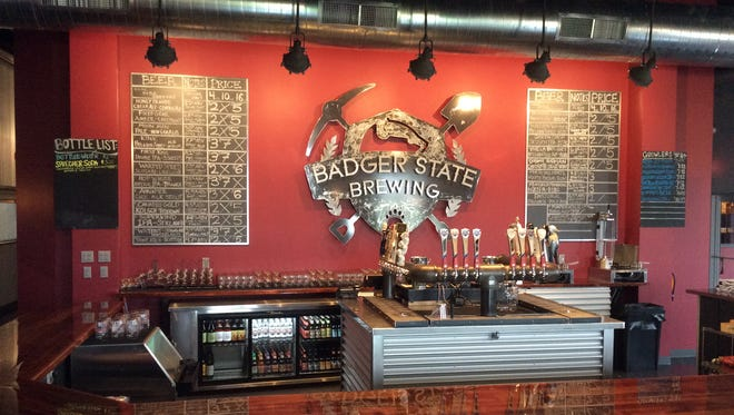 Badger State Brewing's taproom is open for business.