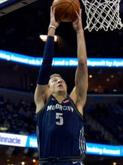 Pistons guard Luke Kennard.