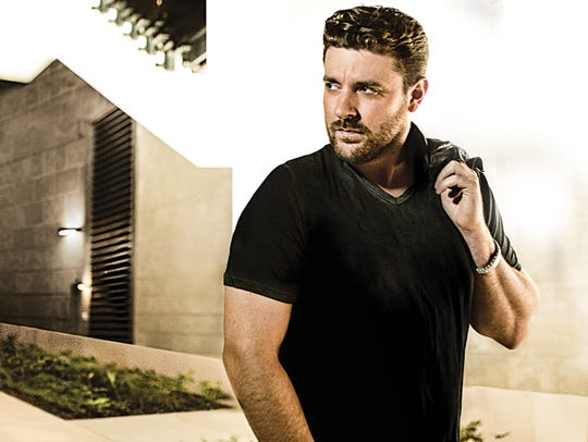 Country star Chris Young will perform at 7:30 p.m.