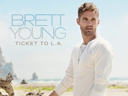 "Brett Young's ""Ticket to L.A."" will be available Dec."