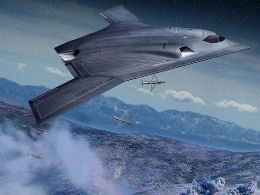 AIR BTN New bomber