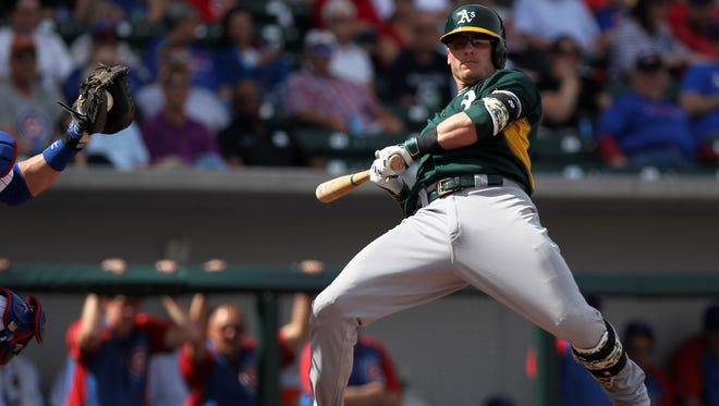 Josh Donaldson chafed at seeing his ugly batting average numbers on the scoreboard early in his career.