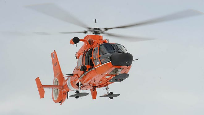 The U.S. Coast Guard is searching for a man reported missing in Davis Bayou.