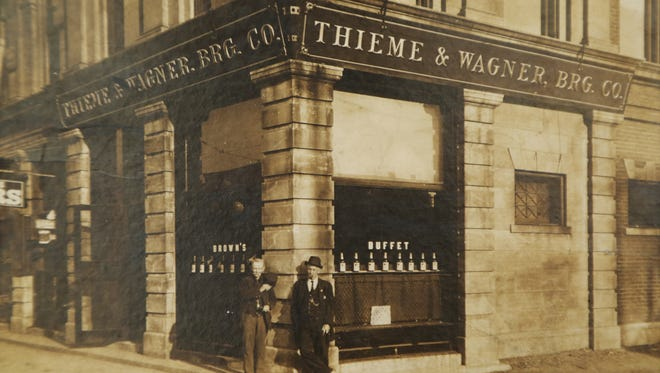 An old photograph of the Thieme & Wagner Brewing Co.