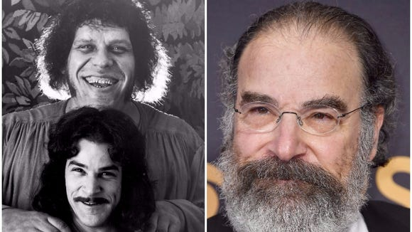 Some young 'Princess Bride' fans don't believe that 'Homeland' actor Mandy Patinkin played Inigo Montoya in 'The Princess Bride,' left. So Patinkin delivers his iconic movie line for them.