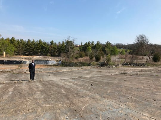 Metro Councilman Sam Coleman stands in the area that