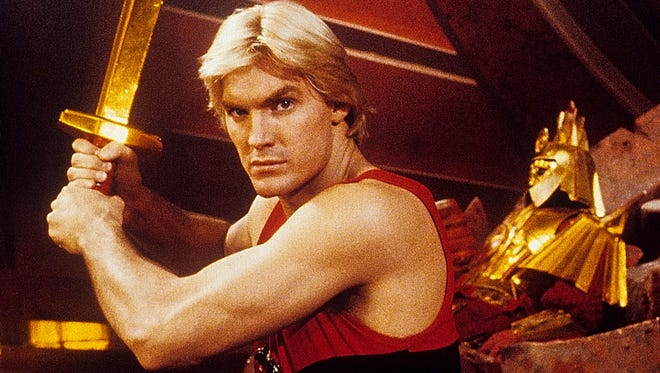 """Sam Jones, star of the 1980 movie """"Flash Gordon,"""" is the signature version of the hero for more modern fans."""