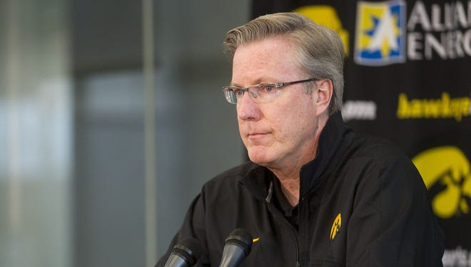 Coach Fran McCaffery's Hawkeyes picked 7th in Big Ten