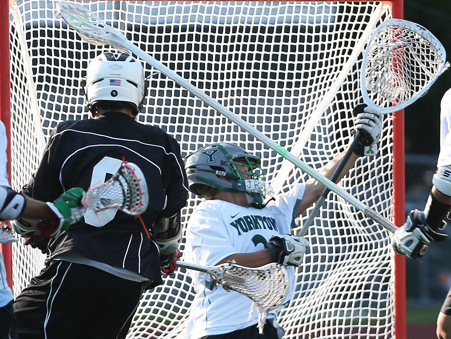 Yorktown goalie Liam Donnelly anchors an athletic Huskers defensive unit, which is a primary reason why the defending Section 1 Class B champs are starting atop the power rankings.
