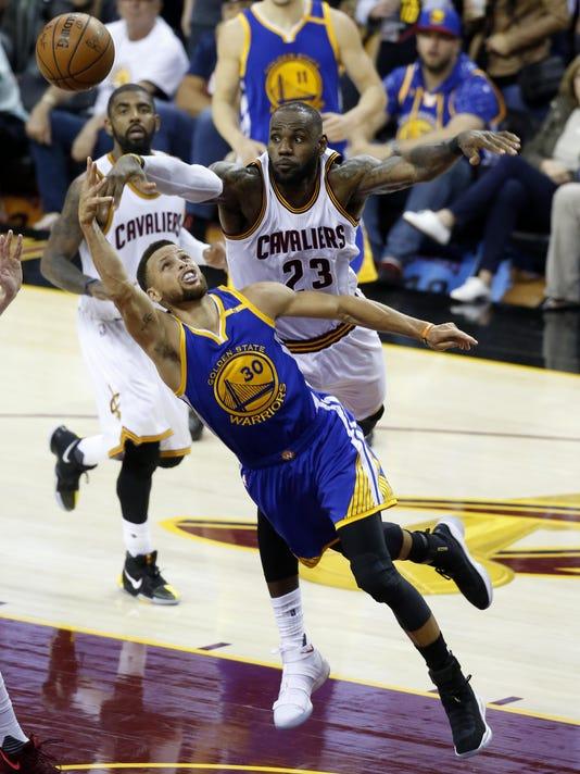 Stephen Curry,LeBron James