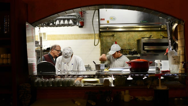 The kitchen at Bouchon. The restaurant, along with two others, is hiring 45 positions.