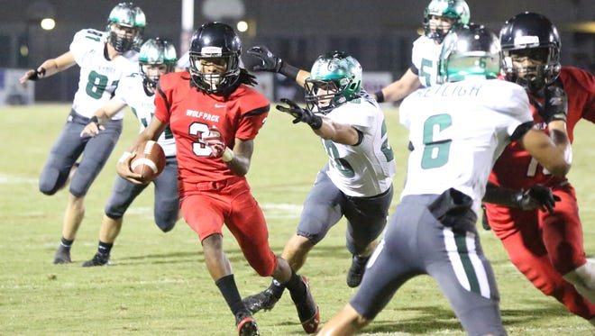 South Fort Myers senior Ke'Shon Murray will sign with a prep school in March in the hopes of obtaining a college football scholarship.