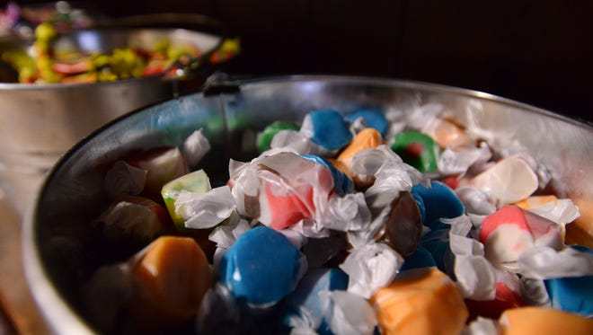 Bulk candy is available at Happy Goat Gluten Free Bakery & Bulk Foods in Lancaster.