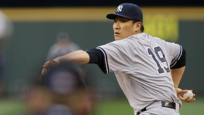 Pitcher Masahiro Tanaka will get the start in the Yankees' opener of a key 15-game stretch.