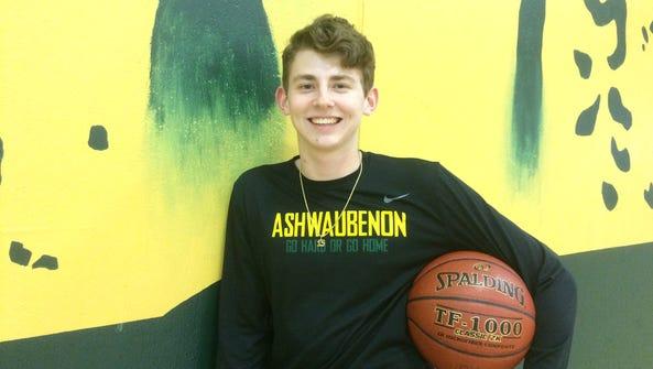 Ashwaubenon senior Ben Wittig averaged 20.5 points