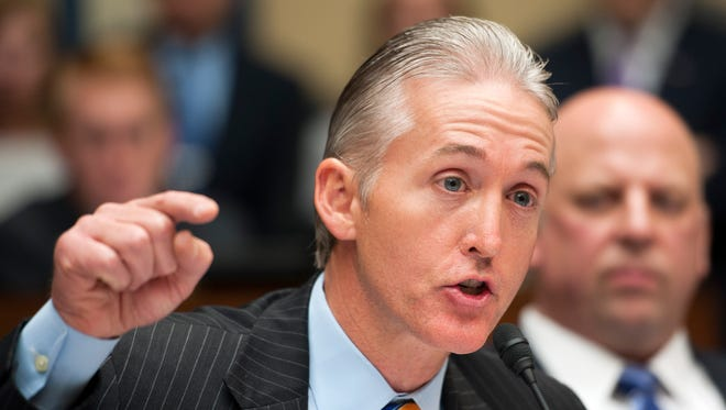Rep. Trey Gowdy, R-S.C., the GOP's newest point man on the Benghazi attack, is a former federal prosecutor.