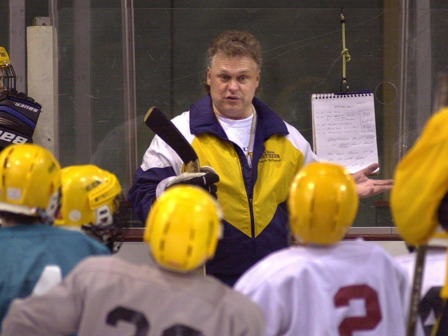 Port Huron Northern hockey coach Daryel McCarrel is being inducted into the Port Huron Sports Hall of Fame.