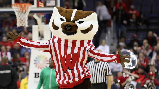Bucky and the Wisconsin Badgers will be dancing in the NCAA tournament this week.
