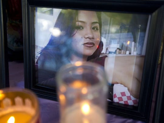 Sandy Julian-Solis, 17, was the oldest sibling killed in the accident Saturday on I-95. (LEAH VOSS/TREASURE COAST NEWSPAPERS)