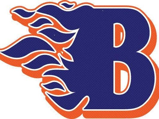 BHS flaming B logo