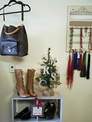 My Rich Sister's Closet recently re-opened by Norma Verduzco and Laura Le Blanc in Mesilla near the plaza. Thursday Nov. 30, 2017. The upscale consignment shop offers shoppers pre-owned clothing that looks new along with jewelry, shoes and purses.