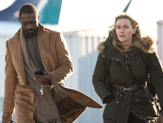 "Idris Elba and Kate Winslet star in ""The Mountain Between"