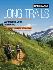 Cover of Long Trails: Mastering the Art of the Thru-hike by Elizabeth Thomas.