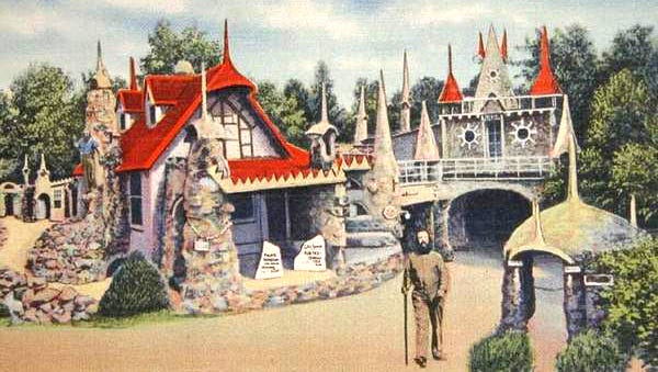 A vintage Palace of Depression postcard.