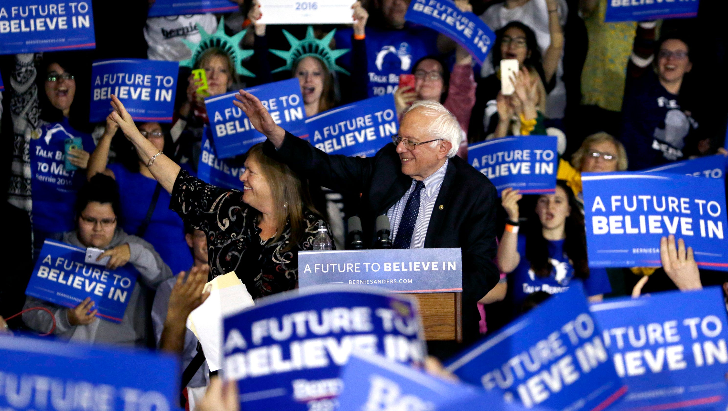 Bernie Sanders is fading, but still has millions more votes than Ted Cruz - USA TODAY