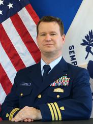 Commander Gregory Thomas