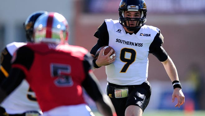 Southern Miss quarterback Nick Mullens was named the Conference USA Player of the Year on Wednesday.