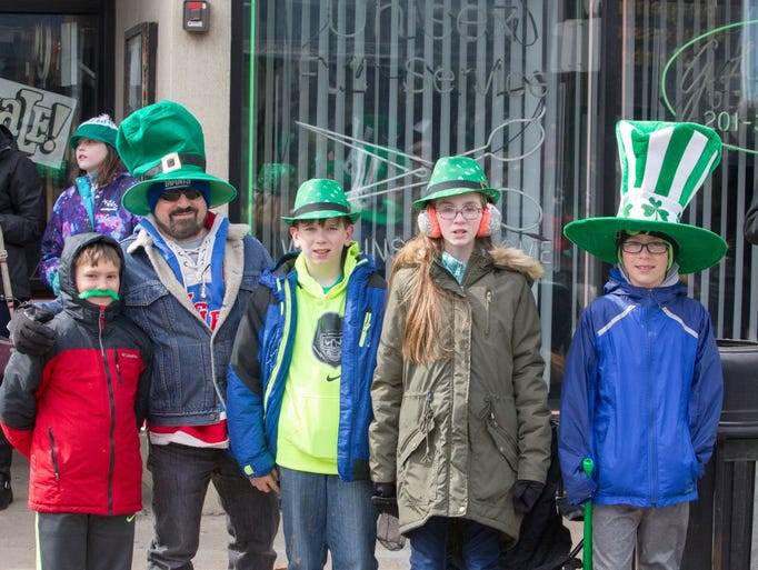 The 36th annual St. Patrick's Day Parade in Bergenfield.