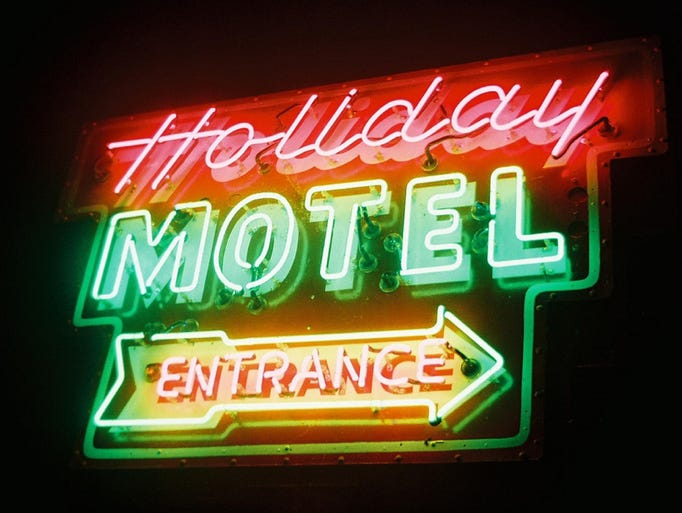The Holiday Music Motel, an historic boutique motel in downtown Sturgeon Bay, is an epicenter of music for guests and visitors alike.