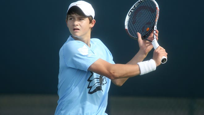 Cincinnati Country Day's JJ Wolf won the boys' 16-and-under title at the United States Tennis Association Winter National Championships Jan. 2 in Scottsdale, Ariz.