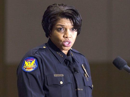 Jeri Williams, jefa del Departamento de Policía de la Ciudad de Phoenix.