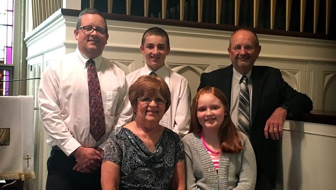Three generations of the Ludwig family perform at Zion's Lutheran Church