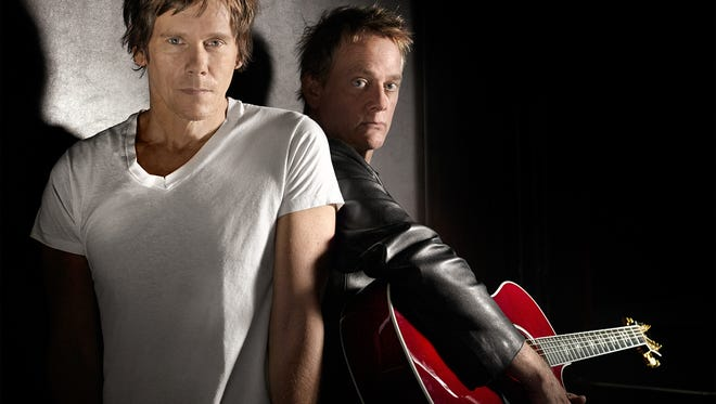 Kevin and Michael Bacon bring their rock and soul sounds to The Lyric Theatre on Thursday.