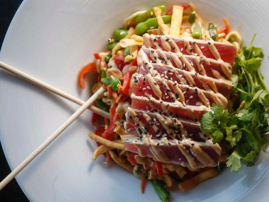 Miso noodles at Americana restaurant in downtown Des