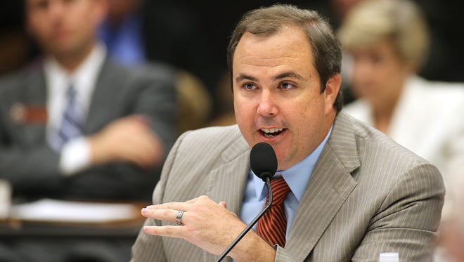 Joe Gruters is a FSU Trustee and chair of Donald Trump's Florida campaign.