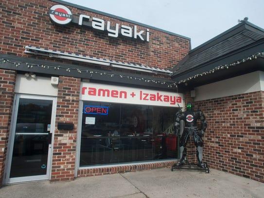 Rayaki Restaurant in Cherry Hill.