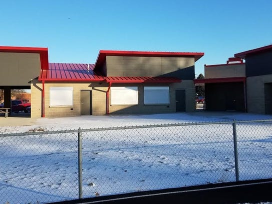 Le Mars Schools recently constructed a football concession
