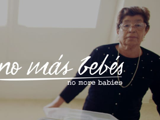 """No Mas Bebes"" will be shown from 5:30-7:30 p.m. Wednesday"