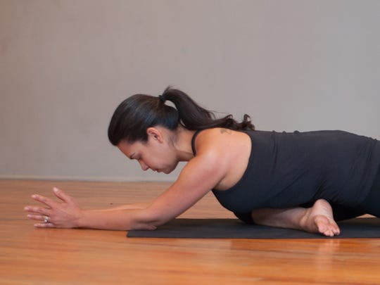 Think of yin yoga as therapy for joints, tissues and